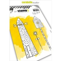 Carabelle Studio Cling Stamp Home Sweet Home