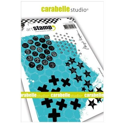 Carabelle Studio Cling Stamp Textures Printing