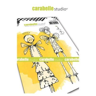 Carabelle Studio Cling Stamp Things with Wings