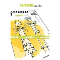 Carabelle Studio Cling Stamp Grungy Patterns