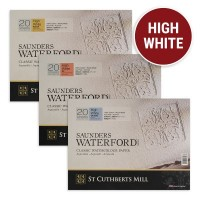Saunders Waterford High White Watercolour Paper Block
