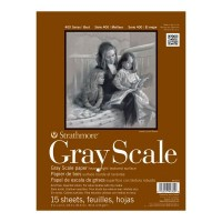 Strathmore 400 Series Grey Scale Paper Pads