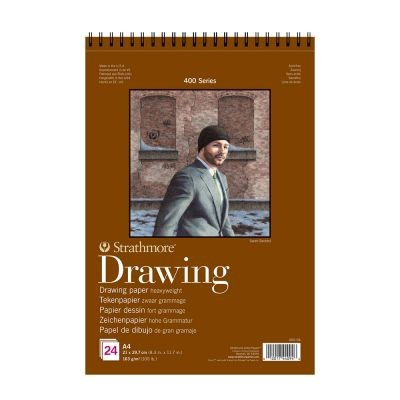 Strathmore 400 Series Heavyweight Drawing Paper Pads