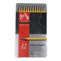 Technograph Graphite Pencil Tin