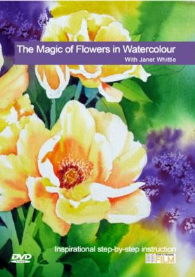 The Magic of Flowers in Watercolour With Janet Whittle DVD