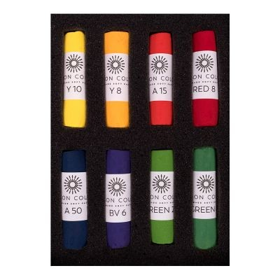 Unison Soft Pastel Bright Colours Set of 8