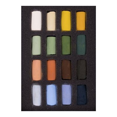 Unison Soft Pastel Half Stick Landscape Set of 16