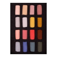 Unison Soft Pastel Half Stick Portrait Set of 16