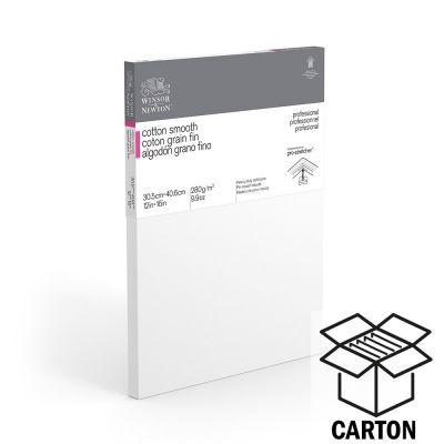 Winsor & Newton Professional Cotton Smooth Standard Cartons