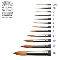 Professional Watercolour Synthetic Sable Round Brush