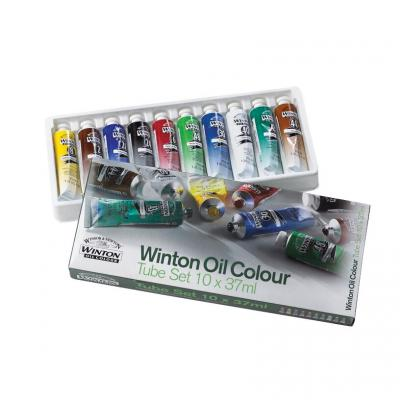 Winton 10 x 37ml Tube Paint Set