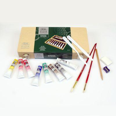 Winsor & Newton Winton Oil Colour Wooden Art Box