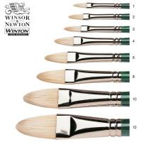 Winton Hog Filbert Oil Brushes