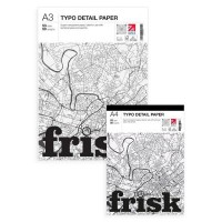 Frisk Typo Detail Paper Pads