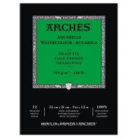 Arches Aquarelle Gummed Watercolour Paper Pads