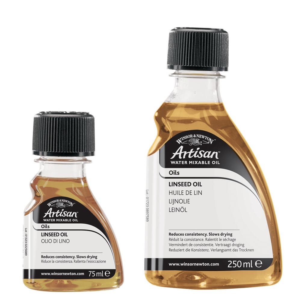 how to use reeves water mixable oil colour