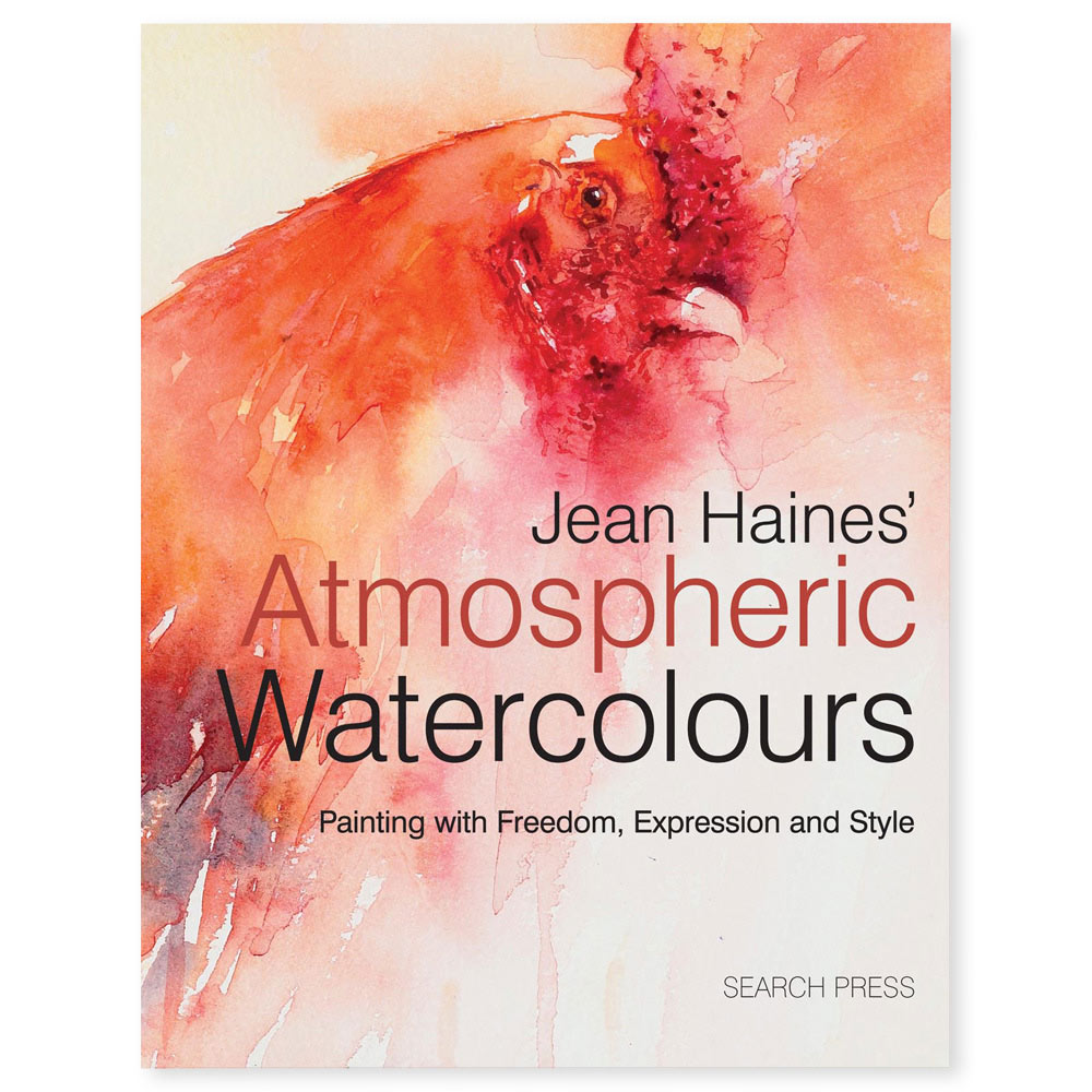 Book Cover Watercolor Hair : Jean haines atmospheric watercolours book ken bromley