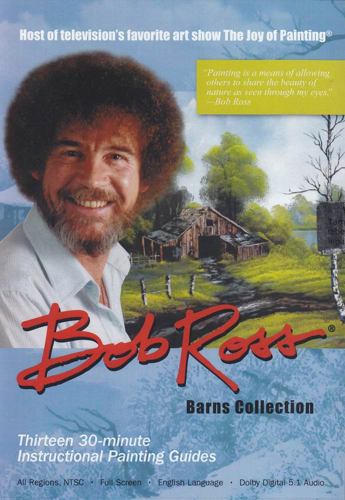 Bob Ross Barns Collection Dvd Ken Bromley Art Supplies