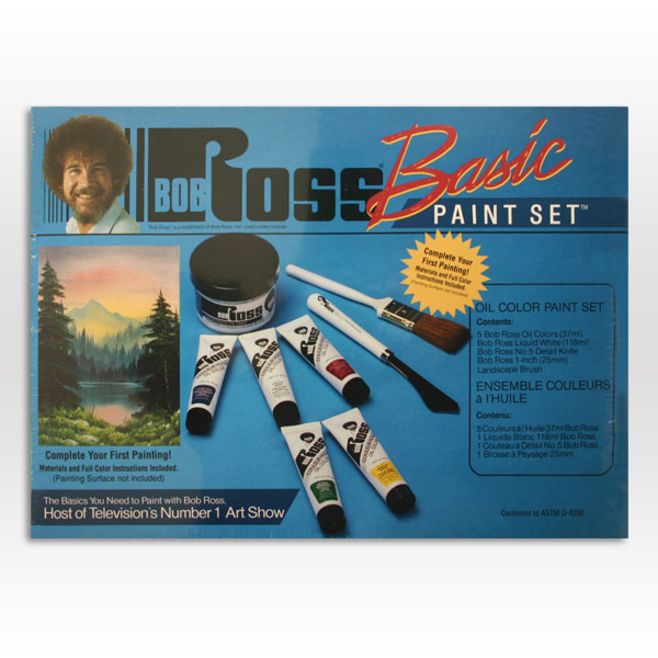 painting Bob ross supplies oil