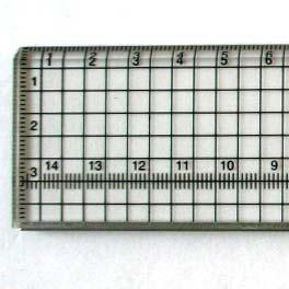 Cutting Ruler with Stainless Steel Strip