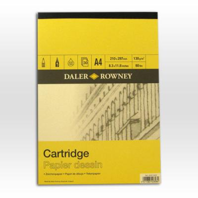 Daler Rowney 130gsm Smooth Cartridge Pad