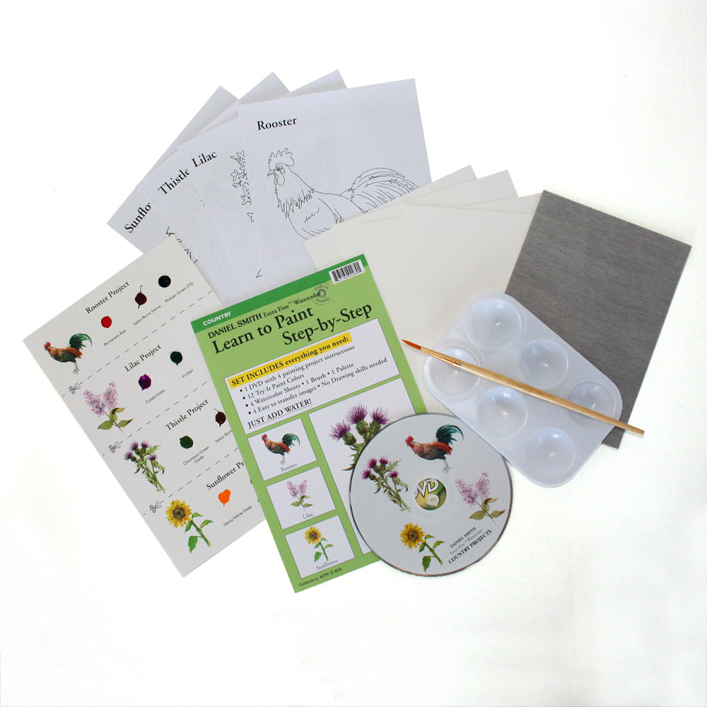 daniel smith learn to paint step by step kits ken bromley art supplies