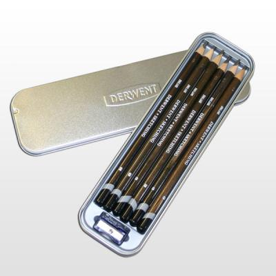 Derwent Sketching Pencils Tin of 6