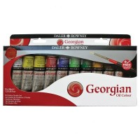 Georgian Oil Colour Studio Set 10 x 38ml