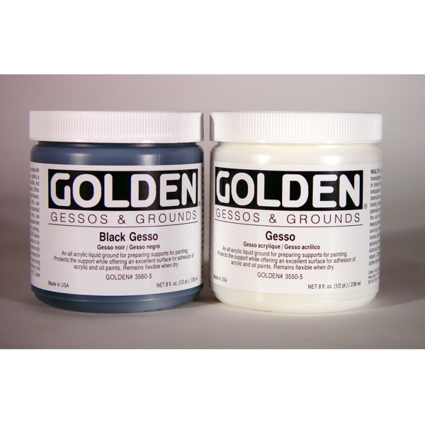 Golden Gesso Ken Bromley Art Supplies