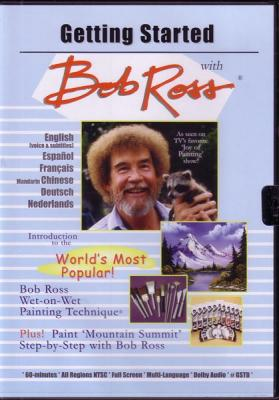 Getting Started with Bob Ross DVD