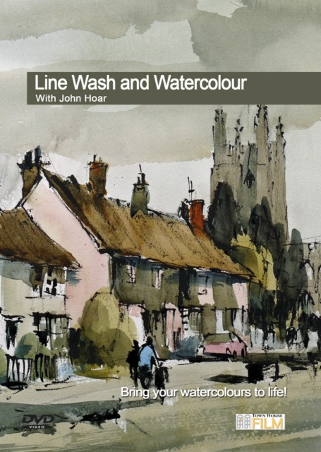 line  wash and watercolour