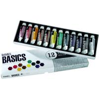 Liquitex Basics 12 Tube Acrylic Colour Set