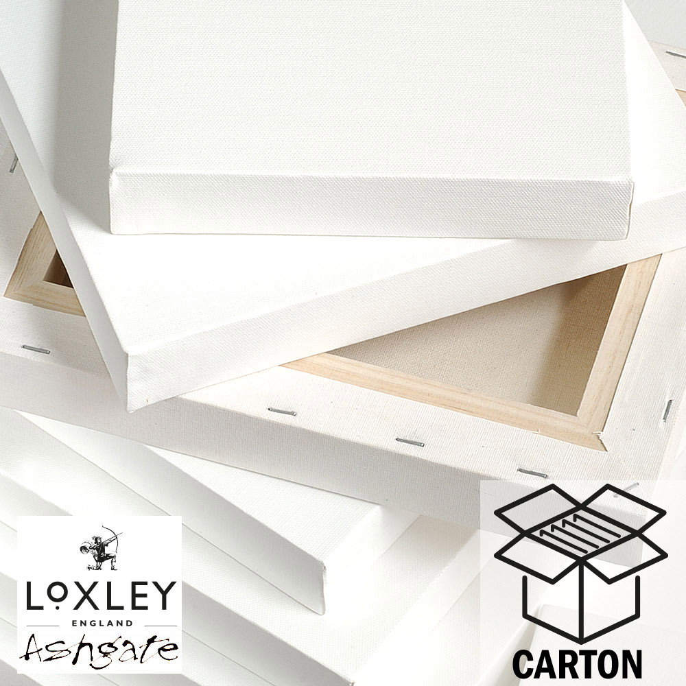 Carton of 5 16 x 12 LOXLEY Ashgate Standard Stretched Canvas