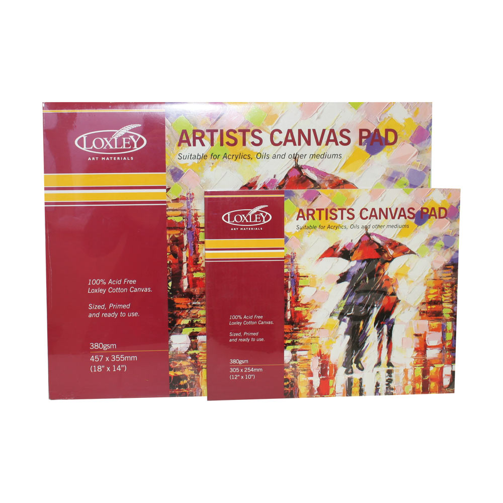 Lienzo Loxley  Canvas Markers Standard Stretched Artists color blanco A2 Canvas