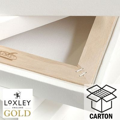 Loxley Gold 3D Canvas Carton