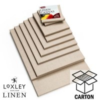Loxley Linen Clear Gesso Canvas Cartons