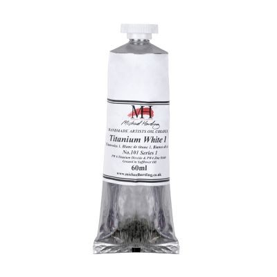 Michael Harding Artists Oil Paint 60ml Titanium White No 1