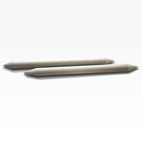 paper stump Double-ended, pointed and made from soft, gray paper felt, stumps are excellent for blending and smoothing pastels, charcoal, graphite or any other dry media tortillons are excellent for rapid, thin blending on pencil, charcoal or pastel drawings both are easily sharpened with a sandpaper block this 10-piece set includes.