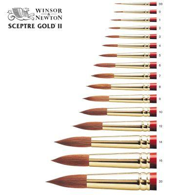 Sceptre Gold II Series 101 Brush Round