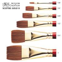 Sceptre Gold II Series 606 One Stroke Brush