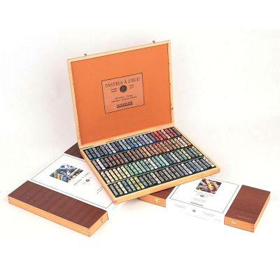 Sennelier Wooden Pastel Sets - The 100 Pastel Selection