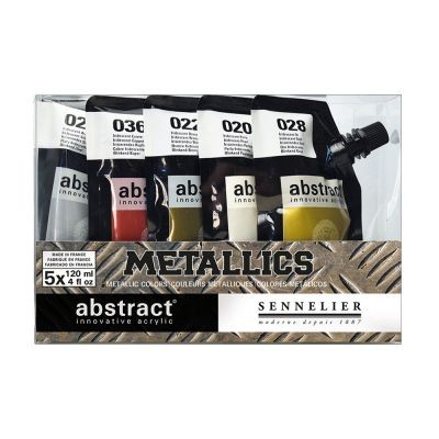 Sennelier Abstract Acrylic Metallic Set