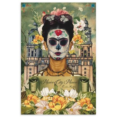 Frida Khalo x Mexico City, Mexico