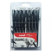 Uni Pin Fine Line Pen Packs