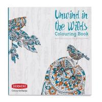 Derwent Colour & Relax - Unwind in the Wilds Colouring Book