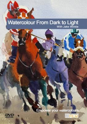 Watercolour From Dark To Light with Jake Winkle DVD