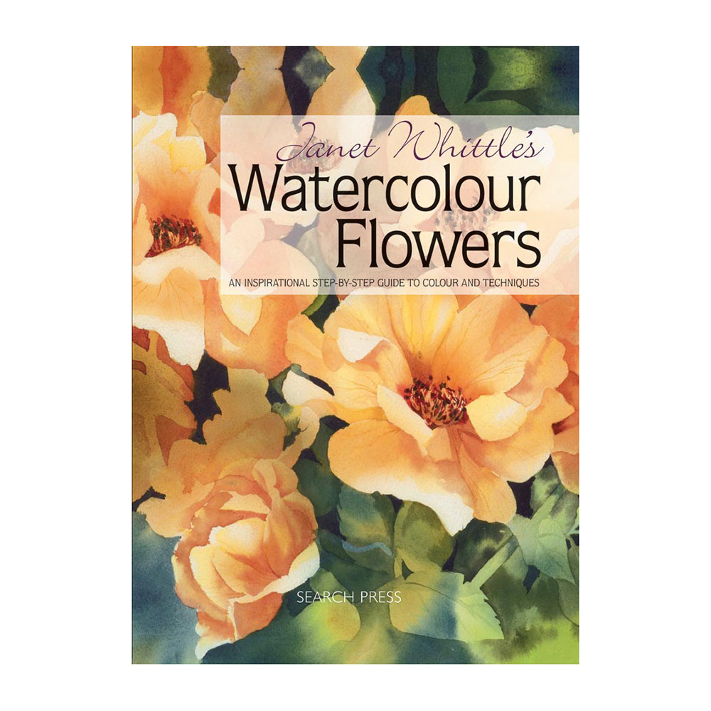 Watercolor books by search press - Janet Whittle