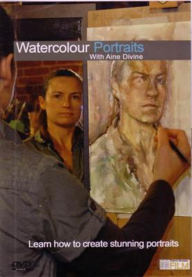 Watercolour Portraits with Aine Divine DVD
