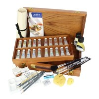 Winsor & Newton Westminster Wooden Box Set