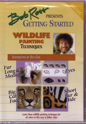 Bob Ross Presents Getting Started Wildlife Painting DVD